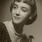 Studio Portrait of young Donna Snow Robinson